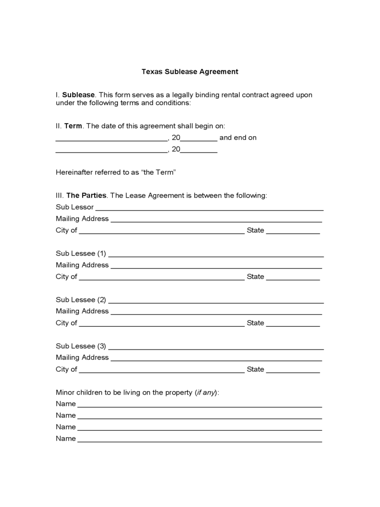 residential lease form pdf ny