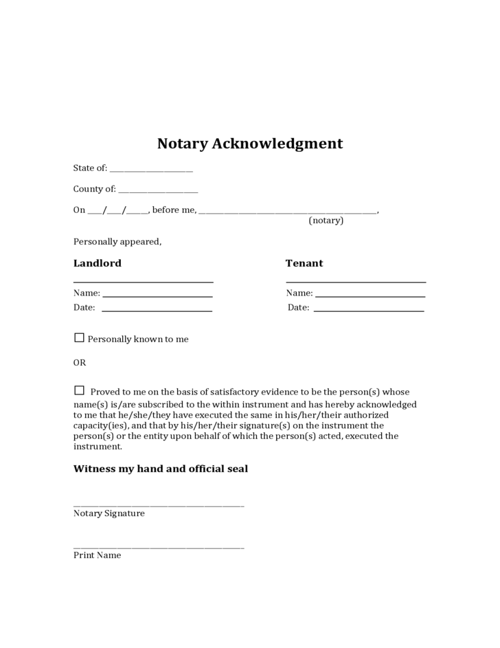 Maryland Sublease Agreement Free Download