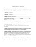 Pennsylvania Agreement to Sublease/Sublet