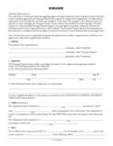 Sublease Agreement Free Download