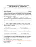 Power of Attorney Form - 283 Free Templates in PDF, Word, Excel ...