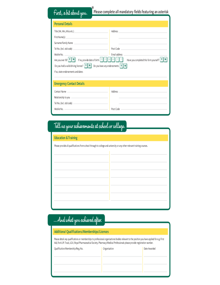 morrisons-fresh-job-application-form-l2 Target Paper Application Form on for shooting practice, bore sight, for archery shooting, professional shooting, terrorist shooting, full body shooting, shooting academy, q87253a,