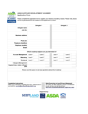 ASDA Job Application Job Form Free Download