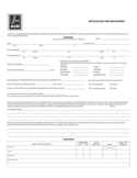 Aldi Job Application Form Free Download