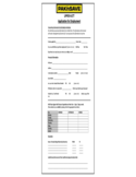 PAK'nSAVE Application for Employment Form
