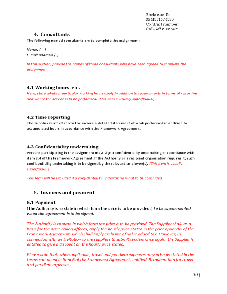 Template For Supply Agreement Free Supply Agreement Contract