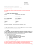 Template for Supply Agreement Free Download