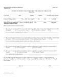 Sworn Statement Form - Virginia Free Download