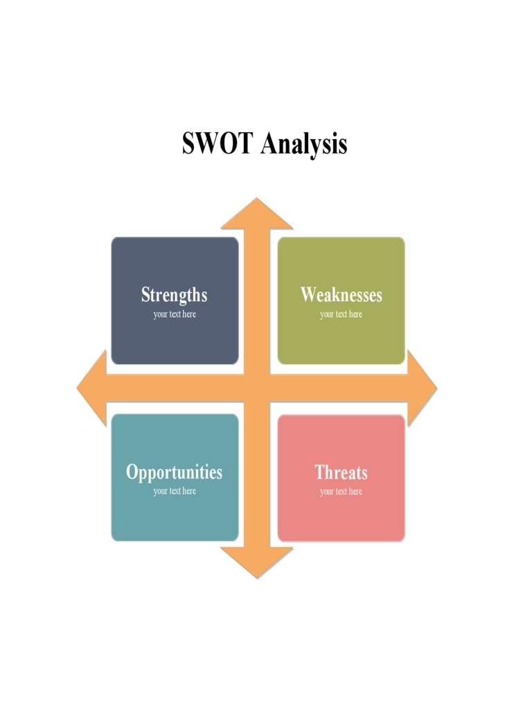 SWOT Analysis Template - 8 Free Templates in PDF, Word ...
