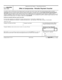 Form 656-PPV - Offer in Compromise Periodic Payment Voucher (2009)