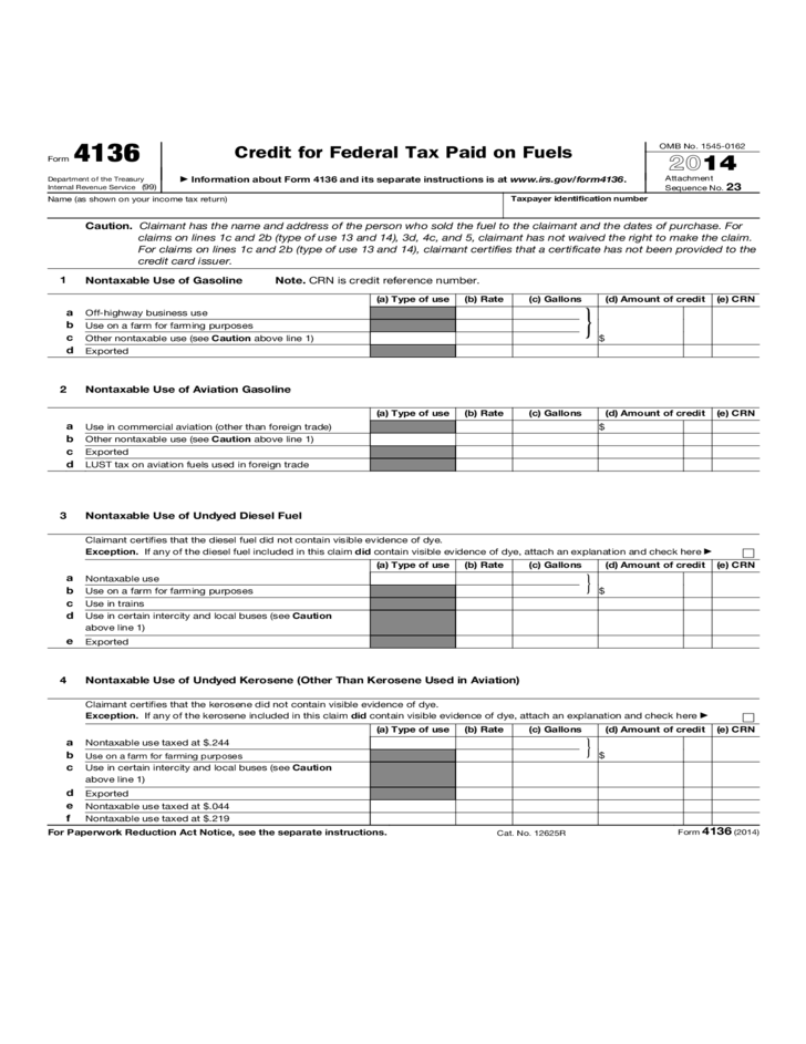 Tax Form 4136 Juveique27