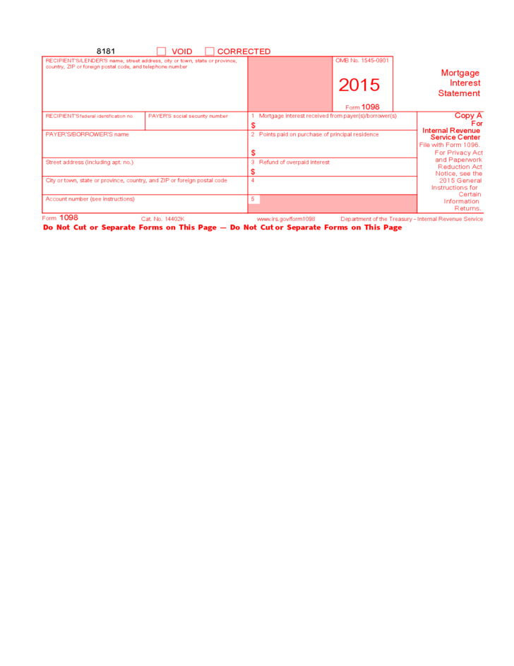 back dating mortgage documents for interest