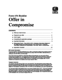Offer in Compromise Booklet