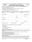 Advisory Committee on Tax Exempt and Government Entities Membership Application Free Download