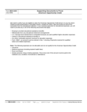 Form 886-H-AOC - Supporting Documents to Prove American Opportunity Credit (2009)