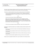 Form 886-H-FTHBC - First-Time Homebuyer Credit Supporting Documents (2009)