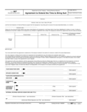 Form 907 - Agreement to Extend the Time to Bring Suit (2001)