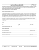 Form 13424-I - Low Income Taxpayer Clinic (LITC) Tax Information Authorization (2012)