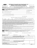 Form 4029 - Application for Exemption from Social Security and Medicare Taxes and Waiver of Benefits (2014)