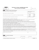 Form 8855 - Election to Treat a Qualified Revocable Trust as Part of an Estate (2012)