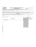 Form 8717 - User Fee for Employee Plan Determination Letter Request (2014)