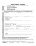 Form 8796-A - Request for Return/Information (2011)
