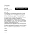 Sample Teacher Cover Letter Free Download