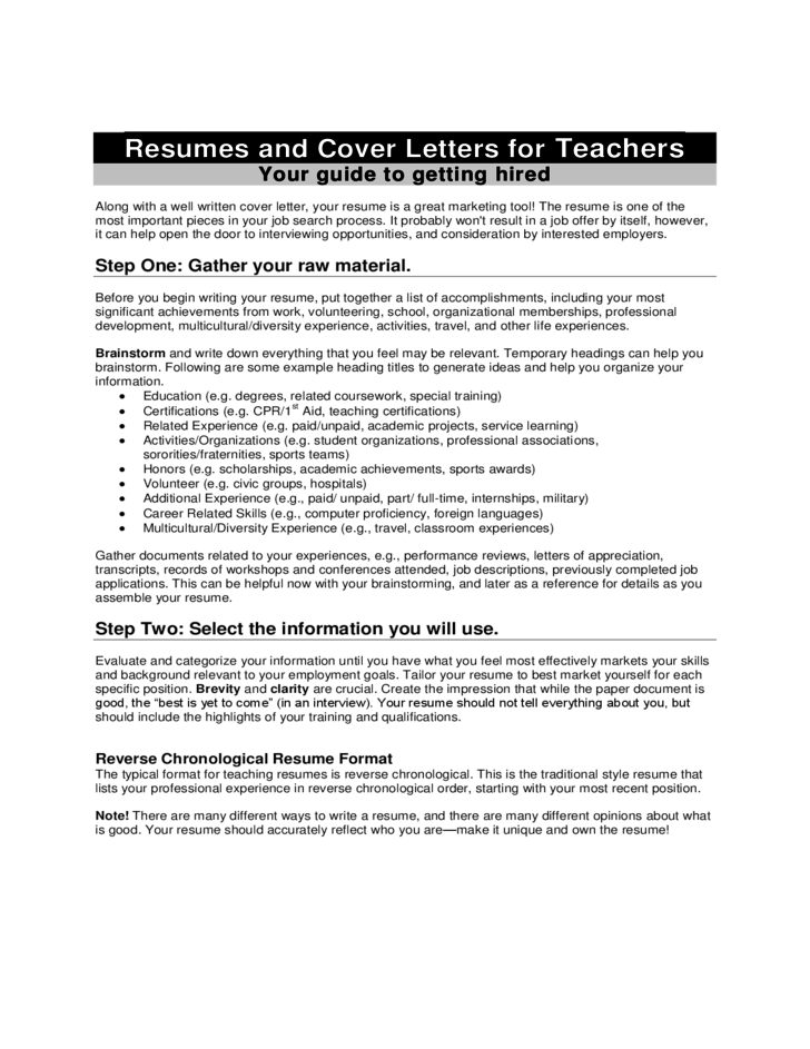 Esl Teachers Resume Writing Tips Sample Accomplishments And Keywords  How To Write A Teaching Resume