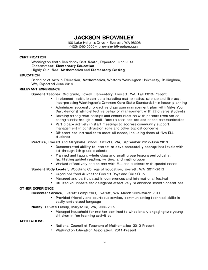 resumes and cover letters for educators Education cover letter sample something to keep in mind: if you're looking for a position in the field of education, be sure to write a professional, friendly, and well-focused cover letter that is specific about your background, training, and skills—whether in the classroom as a teacher or as a school principal or some other administrative role.