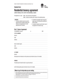 Standard Form for Residential Tenancy Agreement - New South Wales Free Download