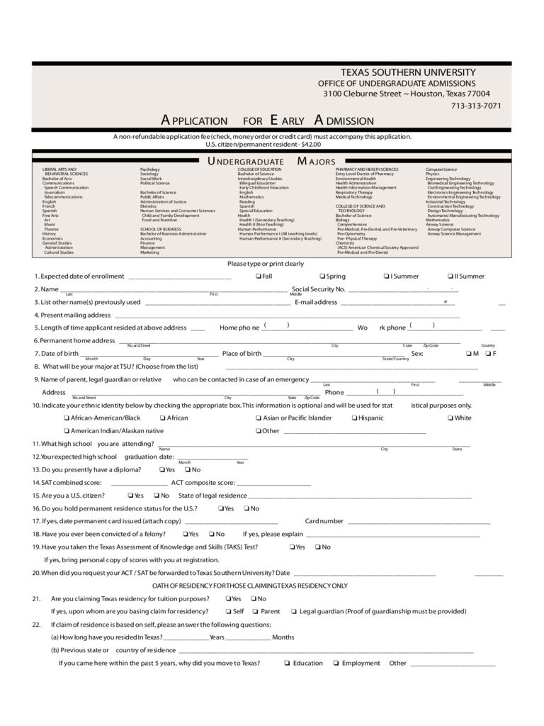 texas a u0026m university application form