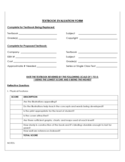 Textbook Evaluation Form Sample Free Download
