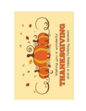 Thanksgiving Cards Free Download