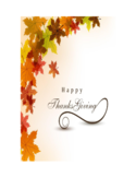 Thanksgiving Photo Card Free Download