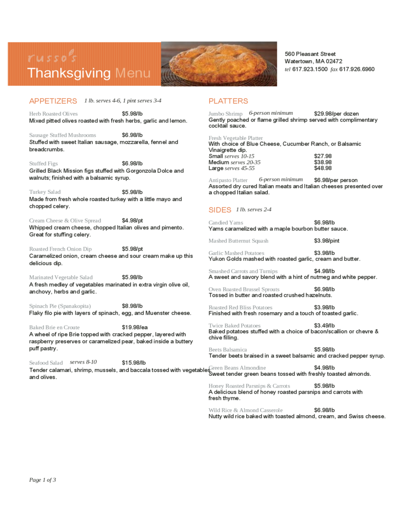 thanksgiving menu template 3 free templates in pdf word excel download. Black Bedroom Furniture Sets. Home Design Ideas