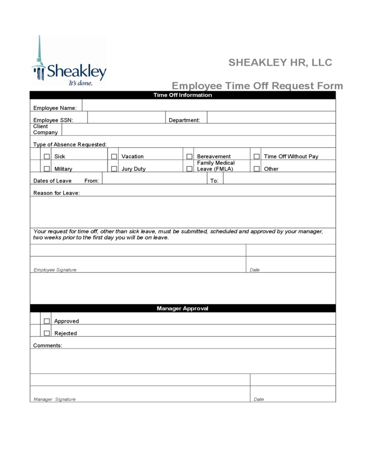 paid time off request form expin franklinfire co