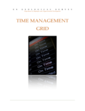 Time Management Grid Template