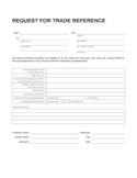 Sample Reference Template Free Download