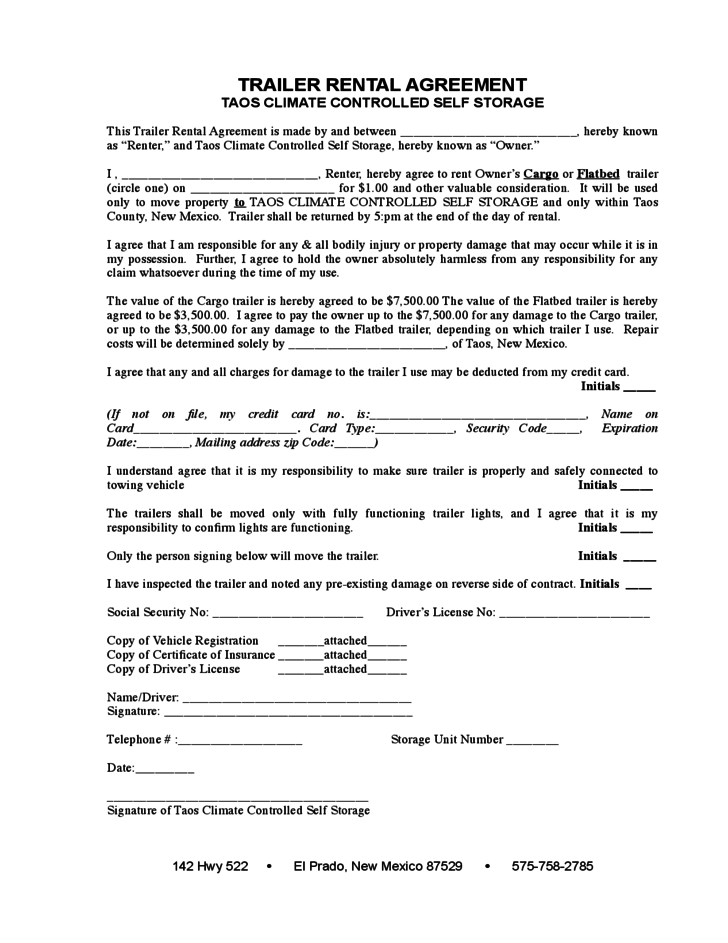 Residential Leasing Agreement Template Zrom