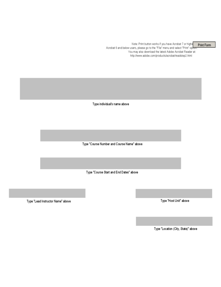 personal training certificate template free download