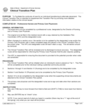Clinical Transition Plan - Illinois Free Download
