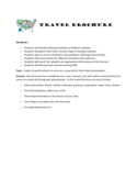 Travel Brochure - North Central College Free Download