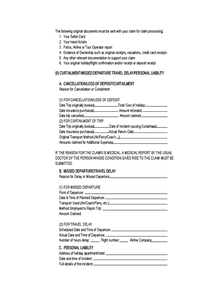 Insurance Claim Form Sample Pictures to Pin PinsDaddy – Sample Medical Claim Form
