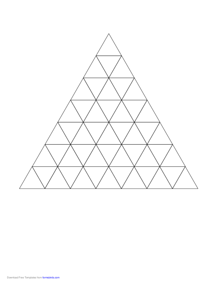 Triangle Graph Paper Free Download – Triangular Graph Paper