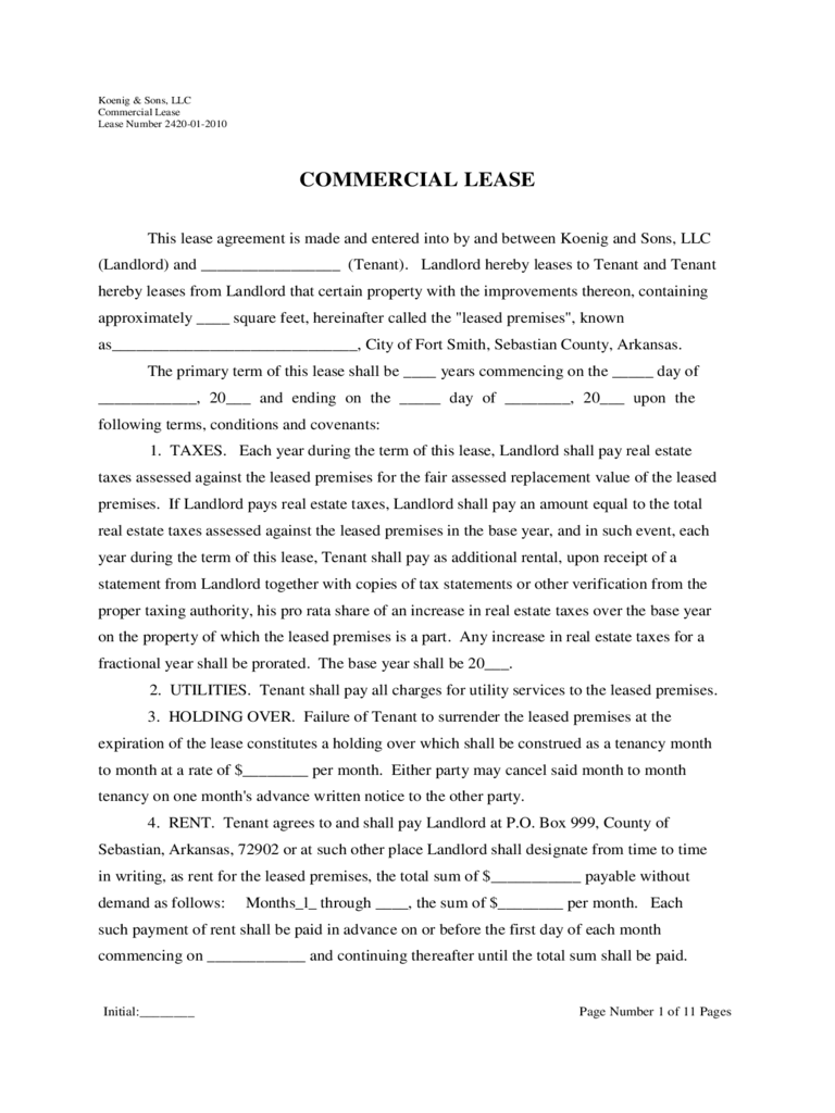 Triple Net Lease Form 2 Free Templates In Pdf Word Excel