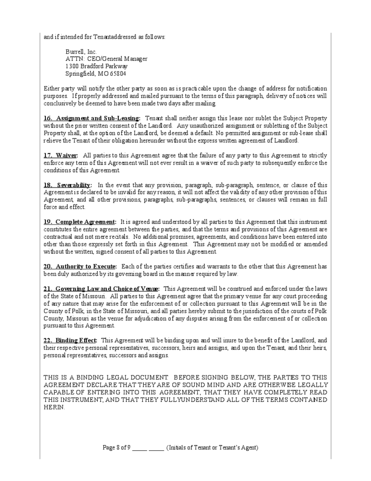 Net Lease Form Nnn Lease Agreement Template With Net Lease Form