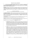 Triple Net Lease Form - Missouri Free Download