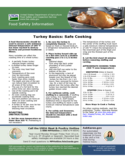 Turkey Basics: safe Cooking Guidance Free Download