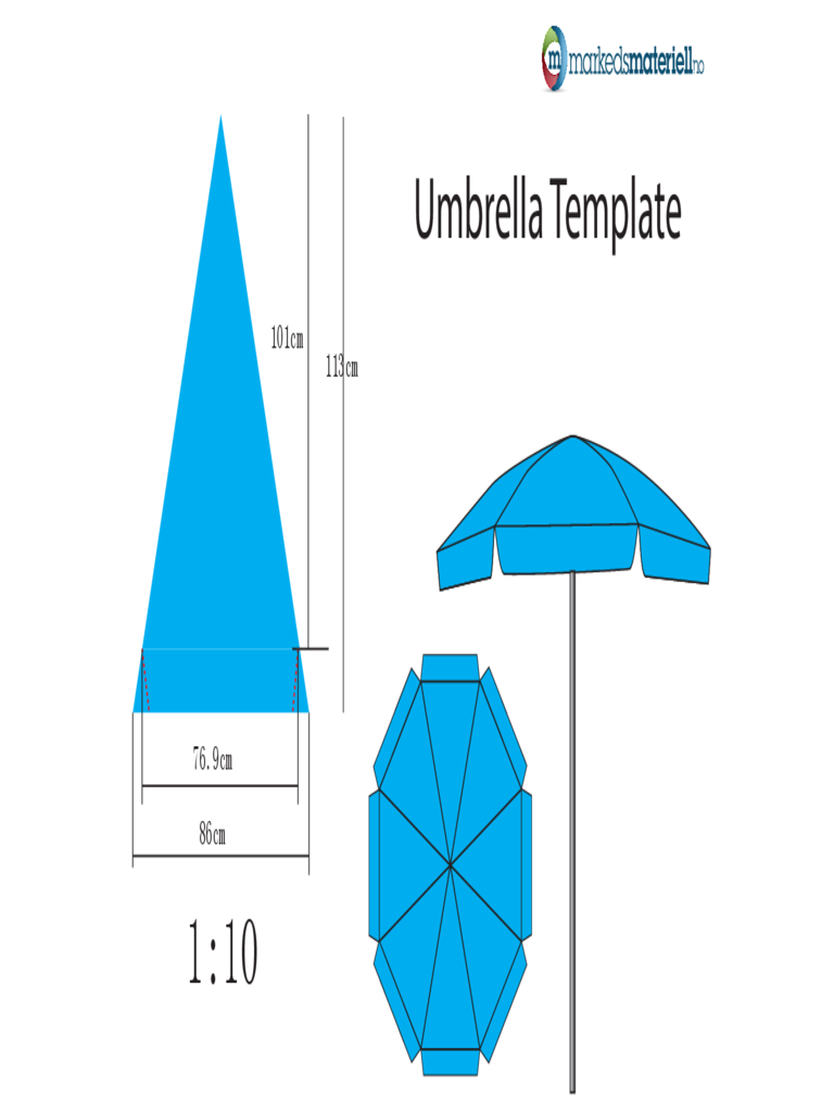 umbrella template 6 free templates in pdf word excel