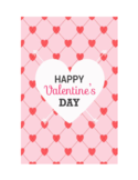 Happy Valentines Day Card Free Download